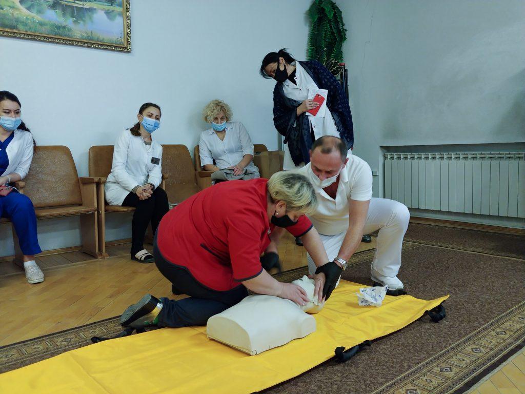 Тренінг з невідкладної допомоги «Серцево-легенева реанімація за системою BLS» 4