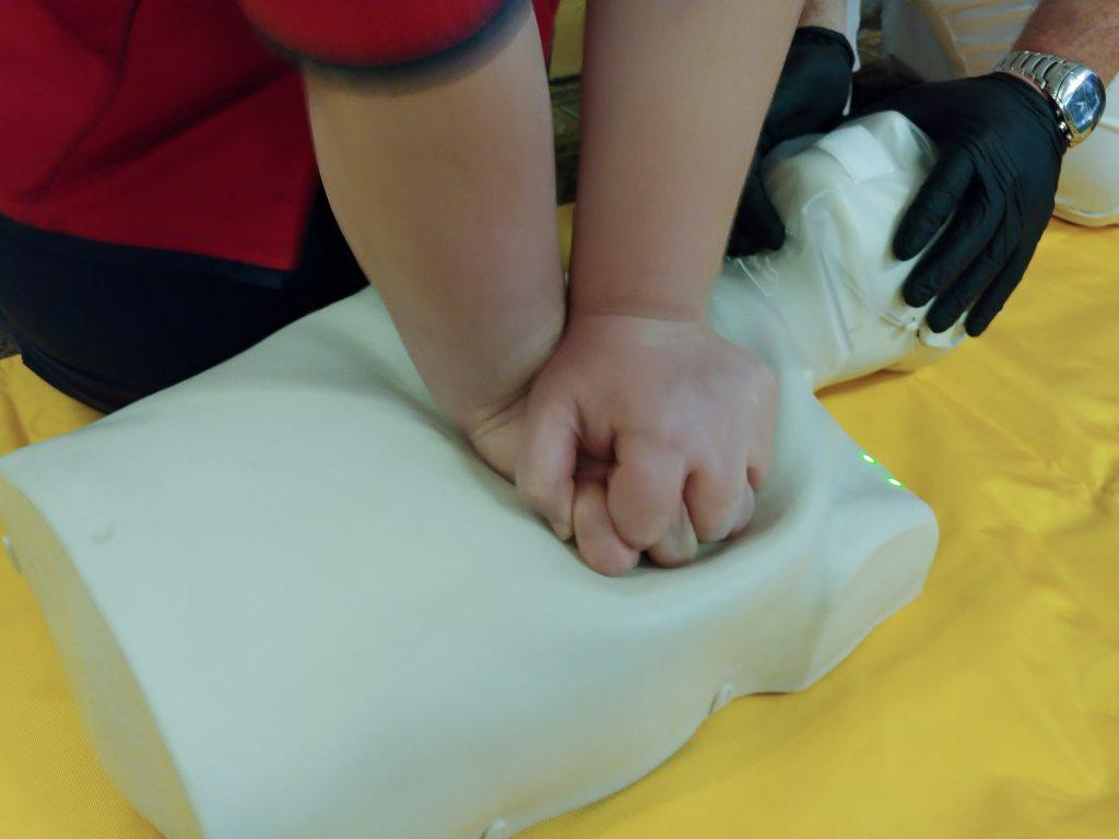 Тренінг з невідкладної допомоги «Серцево-легенева реанімація за системою BLS» 5
