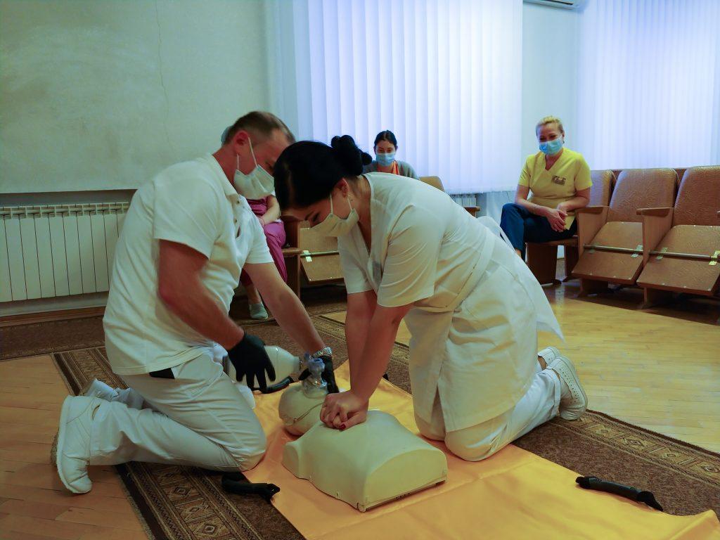 Тренінг з невідкладної допомоги «Серцево-легенева реанімація за системою BLS» 9