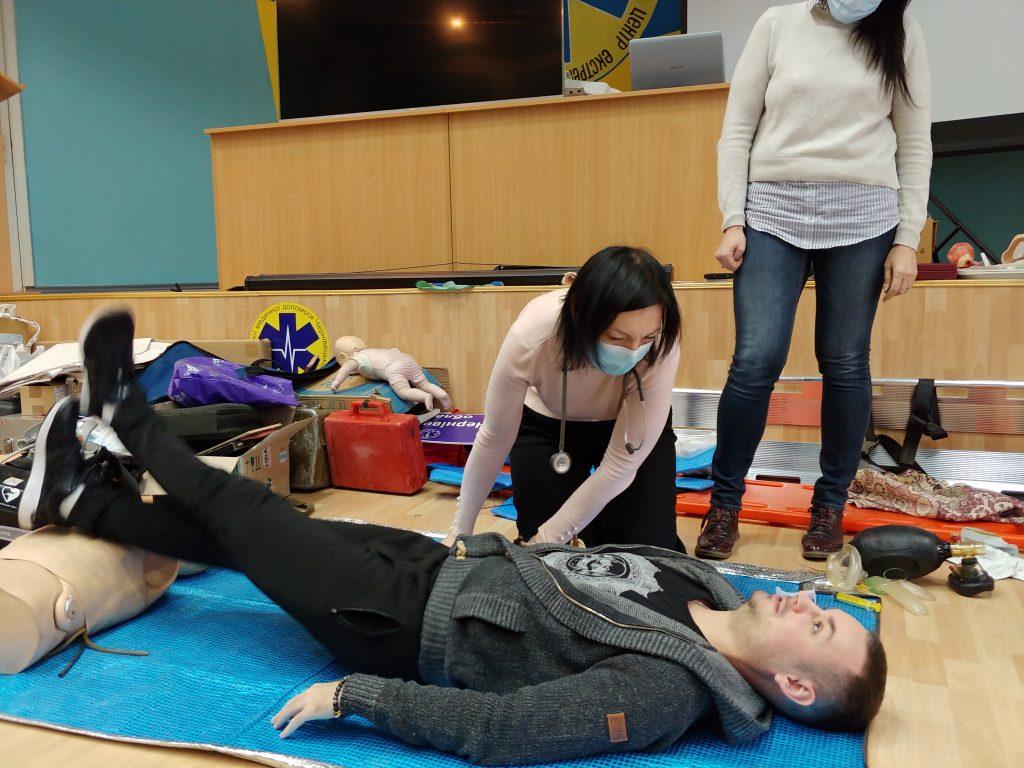 12-ти годинний курс з надання невідкладної медичної допомоги. 5