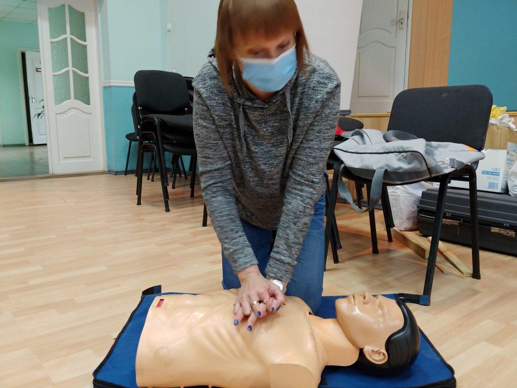 12-ти годинний курс з надання невідкладної медичної допомоги. 11