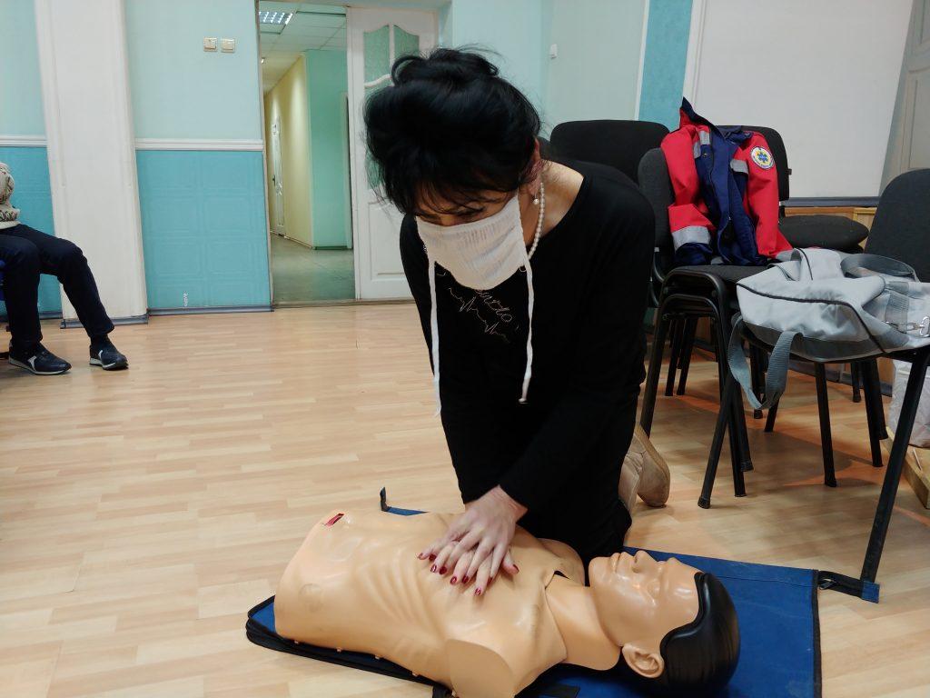 12-ти годинний курс з надання невідкладної медичної допомоги. 10