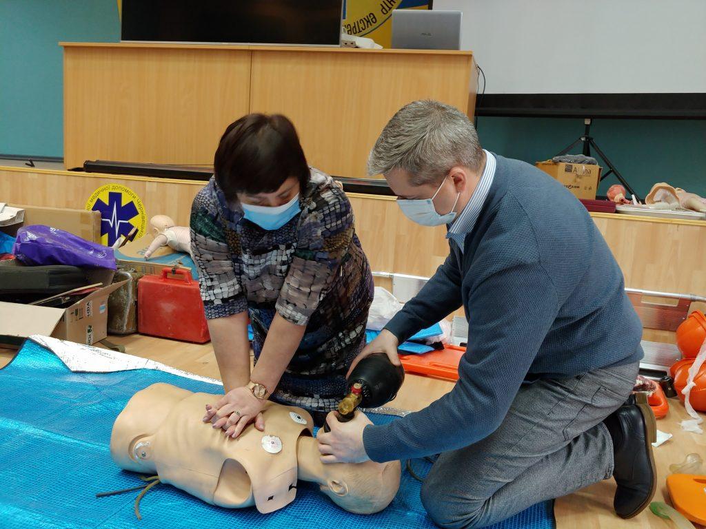 12-ти годинний курс з надання невідкладної медичної допомоги. 8