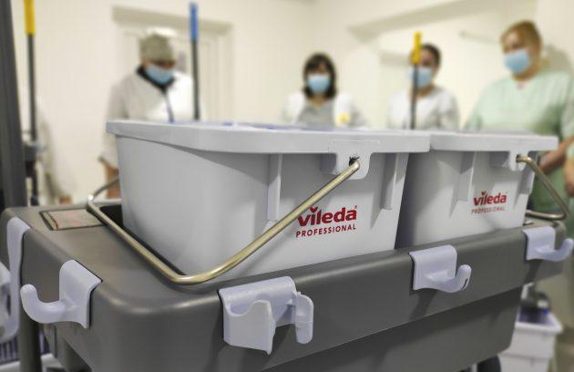 В БКОЦ закуплено професійні системи прибирання. 2