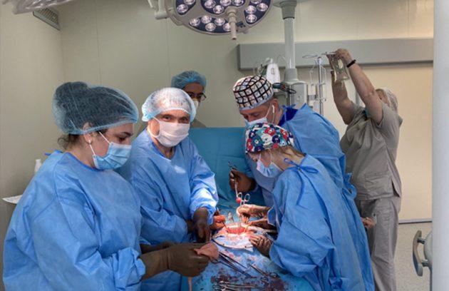 Сучасні онкологічні операції в сучасній операційній. 5